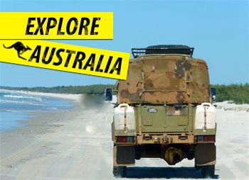 4x4 hire in Australia